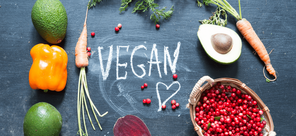 Vegan Food Blog Title