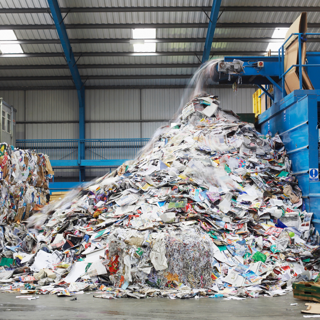 Sustainable recycling facility