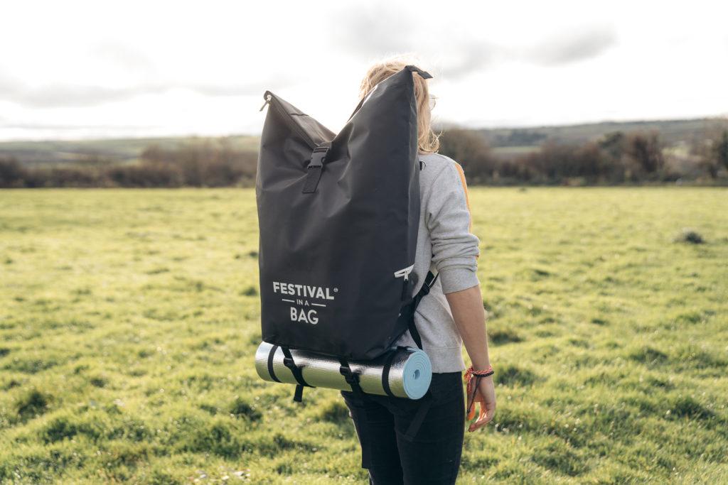 Black Festival Bag